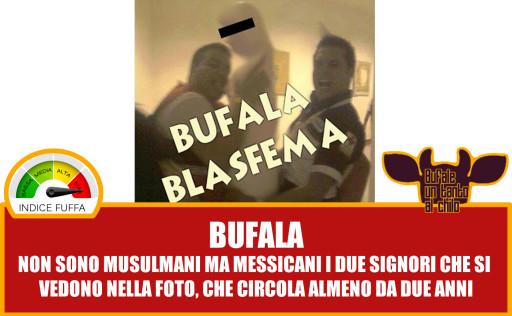 bufala blasfema