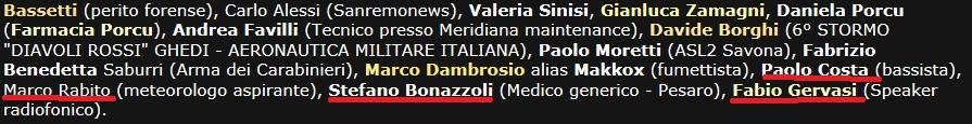 Non fate caso agli altri nomi sottolineati. Ho rubato l'immagine ai simpaticissimi/e ragazzi/e del gruppo NWO Italia.
