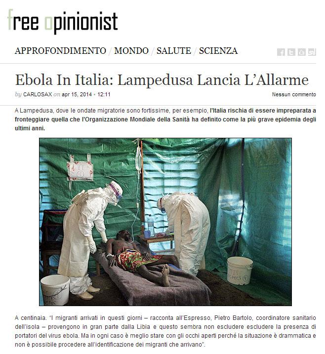 ebolalmapedusa