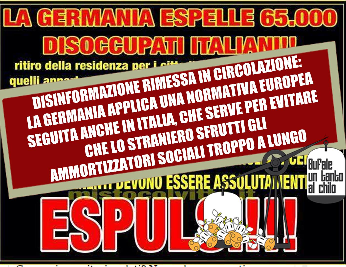 GERMANIA-ESPULSIONI