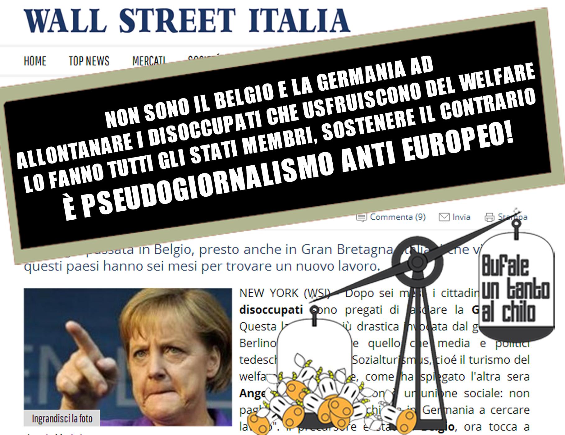 La Germania toglie la residenza agli stranieri disoccupati — BUTAC ...