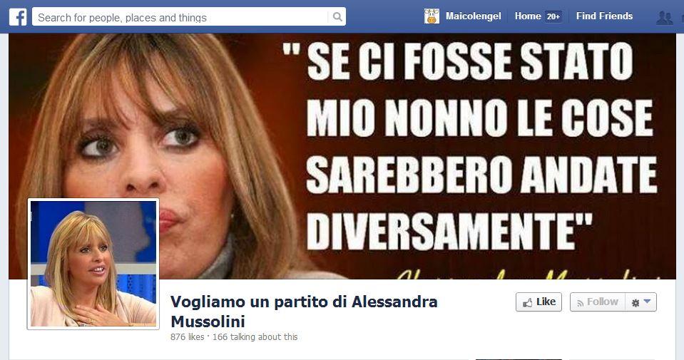 La Falsa Citazione Di Alessandra Mussolini Butac Bufale