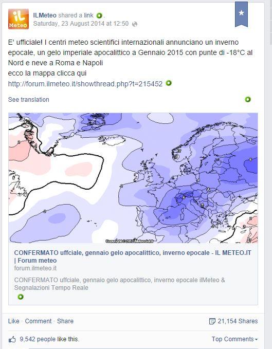 meteocondivisioni