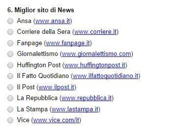 miglior sito di news