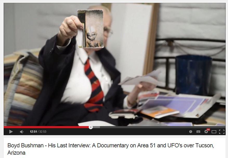 UFO-bushman