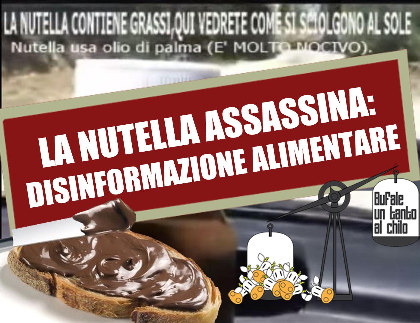 4e2f569b16 La Nutella assassina — BUTAC - Bufale un tanto al chilo