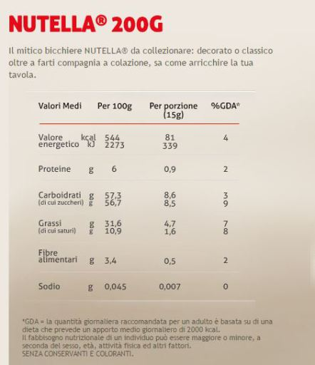 nutell200g