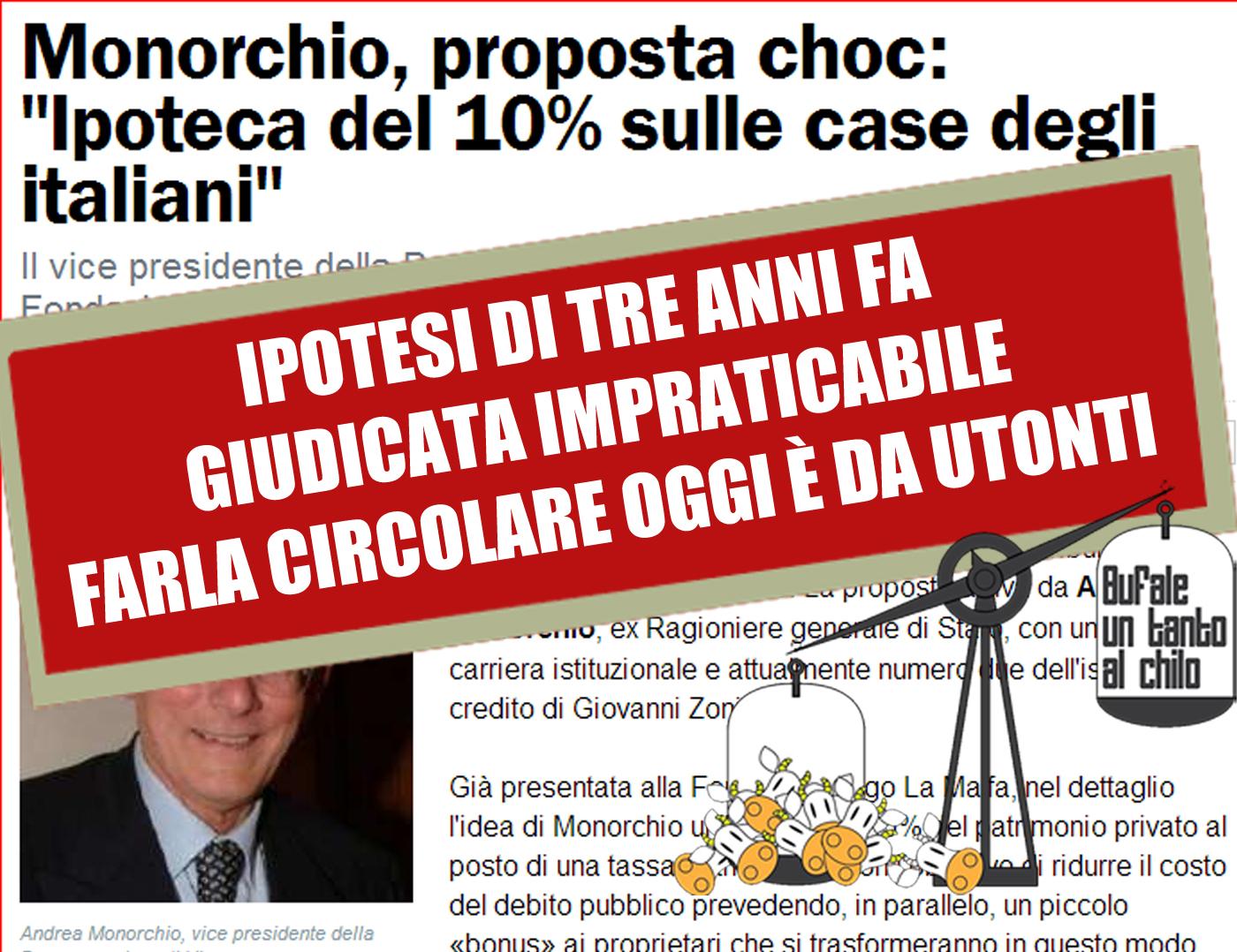 IPOTECA-MONORCHIO
