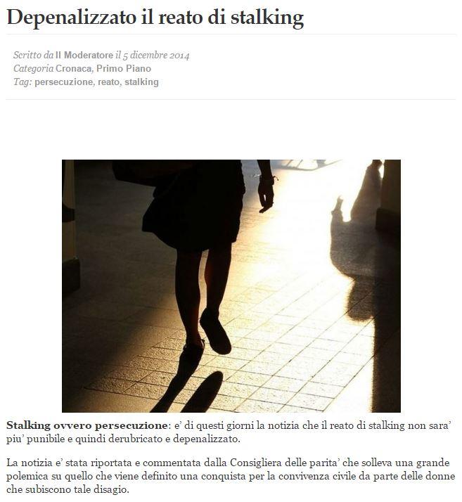 depenalizzato-stalking