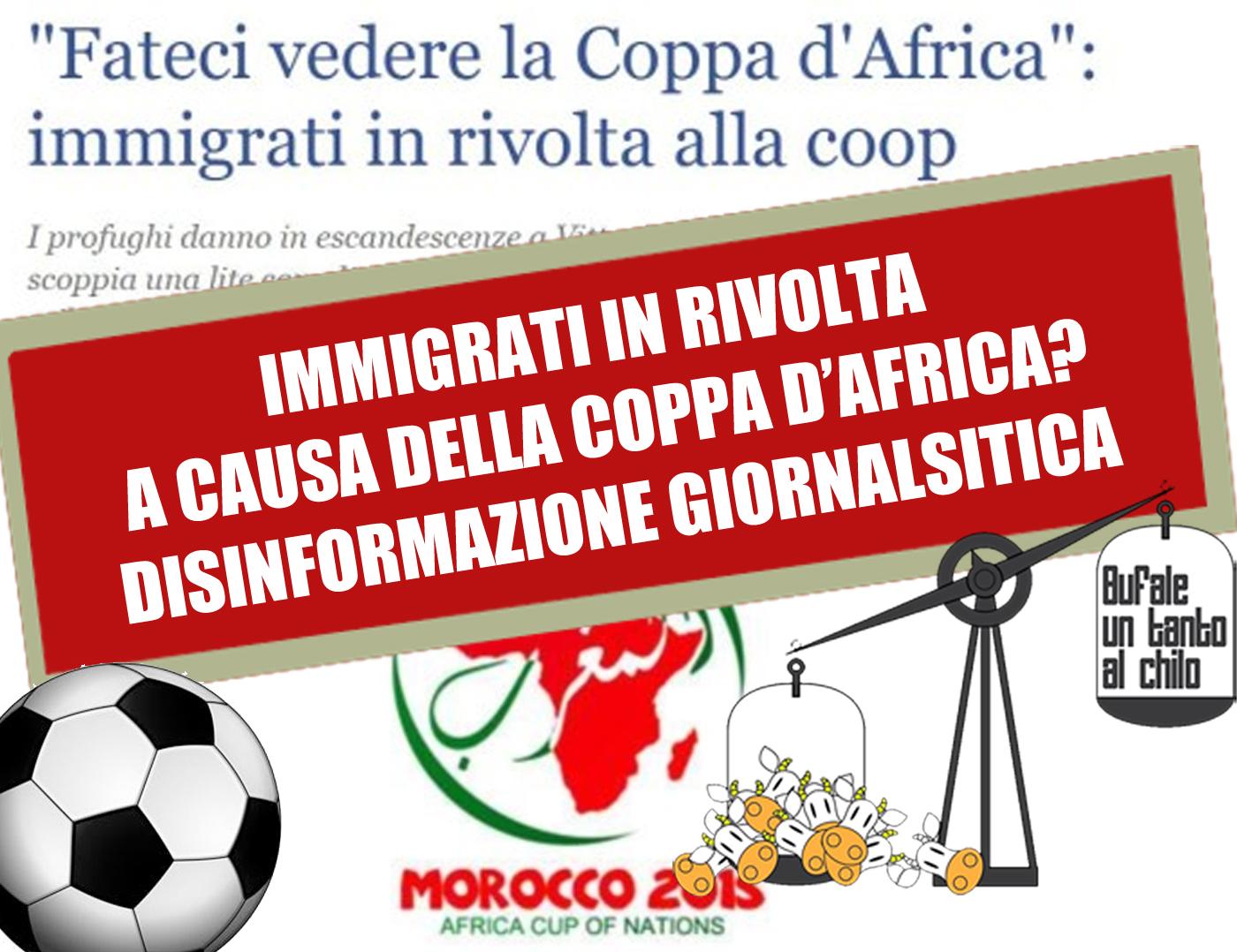 be5aaf919a1 Quella rissa per vedere la Coppa d Africa — BUTAC - Bufale un tanto ...