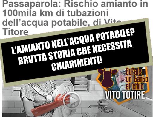 AMIANTO-ACQUAPOTABILE
