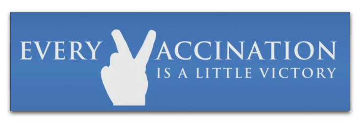every-vaccination-is-a-little-victory