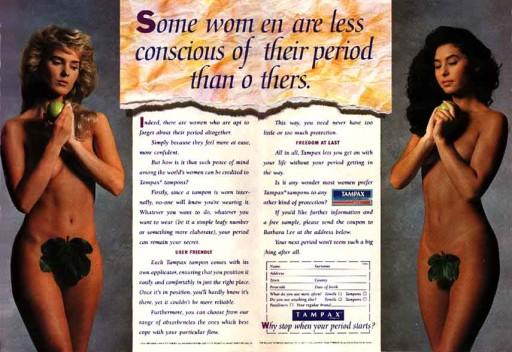 E adesso un po' di donne nude per interessare anche i maschietti.