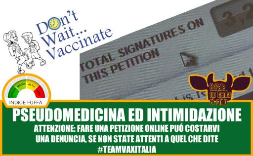 antivaxvaccinipetizione
