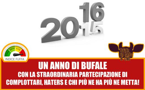un anno di bufale