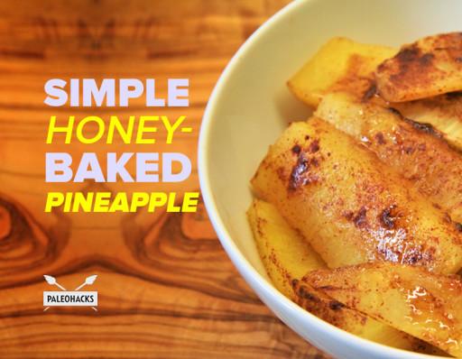 Simple-Honey-Baked-Pineapple