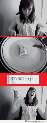 girl-silica-gel-dont-eat-funny-picture