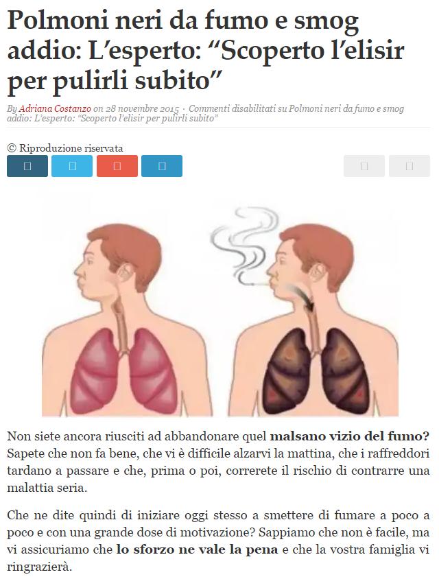Il fumo e dipendenza di pressione