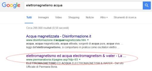 elettr acqua