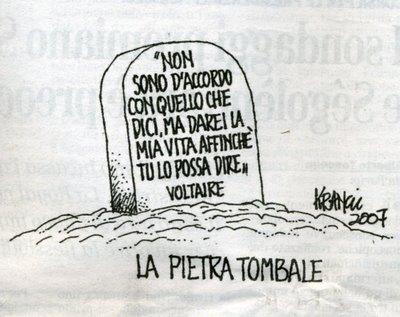 Voltaire Non Ha Mai Detto Butac Bufale Un Tanto Al Chilo
