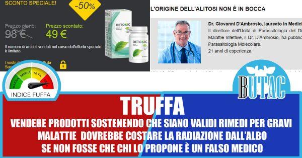 Detosil Parasite treatment : opinioni - prezzo - funziona - Italia - effetti collaterali ...