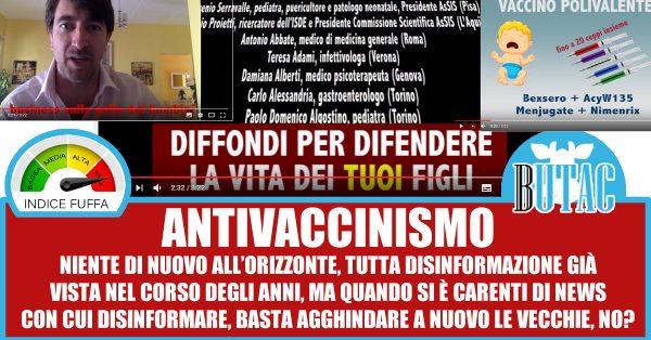 Tosatto - il video antivaccinista