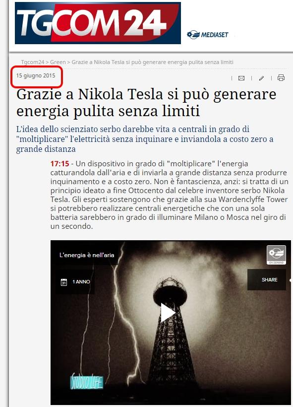 43e05617b90 L energia gratuita di Tesla — BUTAC - Bufale un tanto al chilo