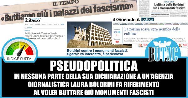 Obelisco Mussolini al Foro Italico, Boldrini: