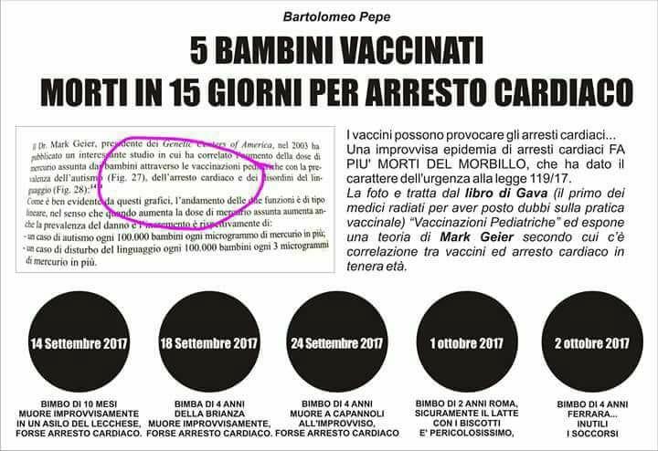 Asl inietta vaccino sbagliato a bimba di 10 mesi