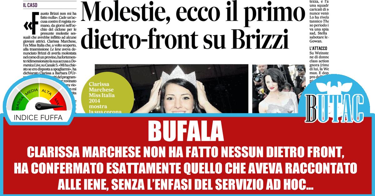 Fausto Brizzi non mi ha fatto nulla