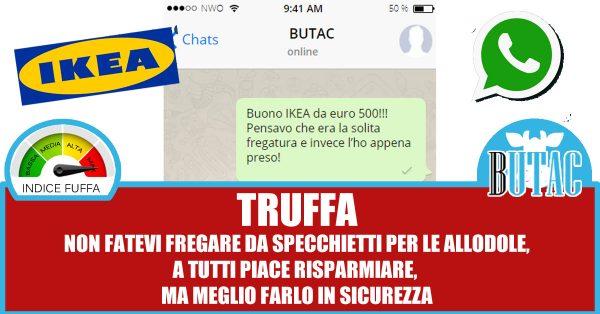 Il buono ikea da 500 euro butac bufale un tanto al chilo - Ikea offre 500 euros ...