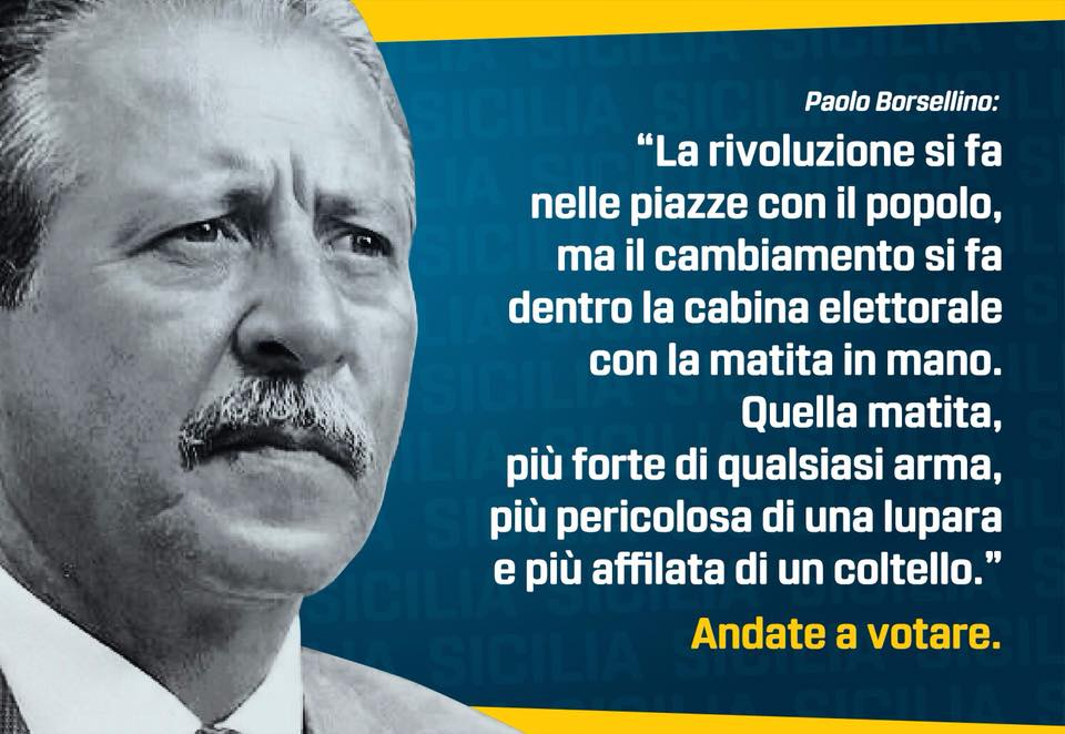 Paolo Borsellino La Rivoluzione E Le Citazioni Poco