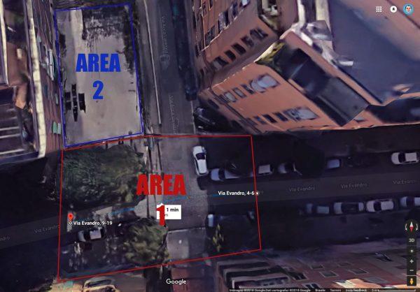 veduta dall'alto con G Maps
