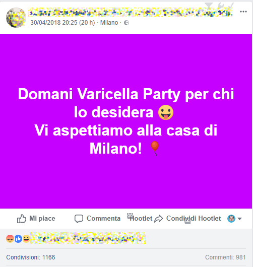 Varicella Party, l'assessore regionale Gallera: