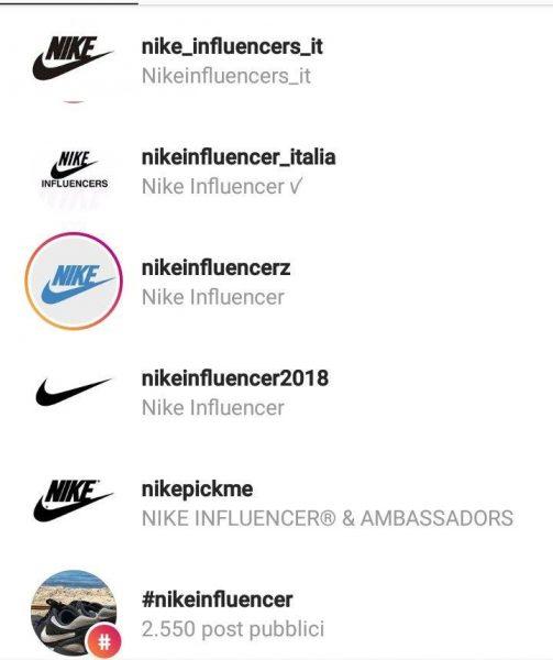 adidas influencer italia