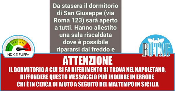 Via Roma dormitorio