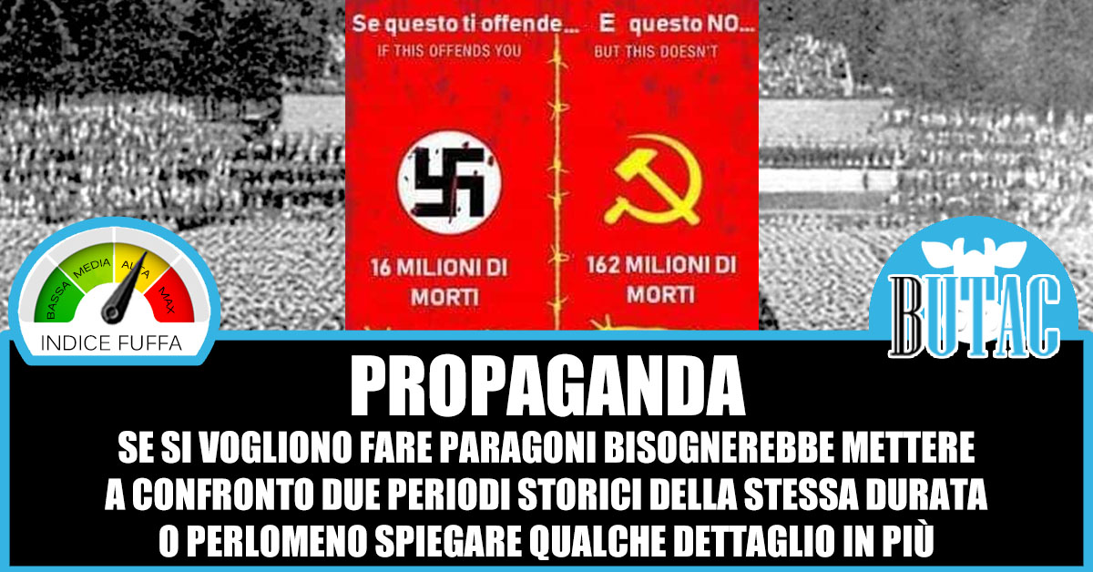 Morti nazisti e comunisti – BUTAC - Bufale un tanto al chilo