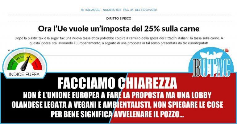 L'Unione Europea, il prezzo della carne e la mal-information*