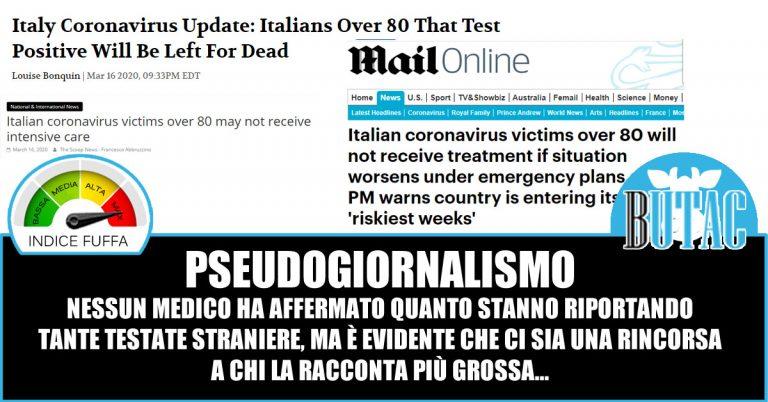 Il Daily Mail e gli ottantenni italiani