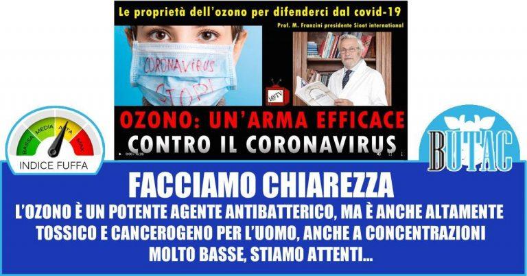 L'ozono e il CoVid-19