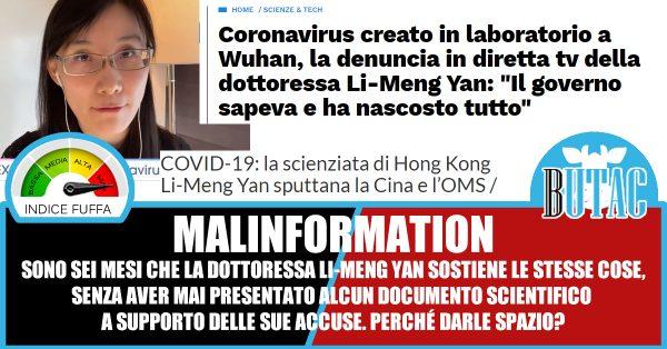Li-Meng Yan e il virus creato in laboratorio